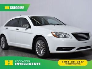2012 Chrysler 200 Limited Cuir Toit Ouvrant Mags