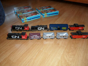 All NEW HO TRAIN STUFF!  (Unused and Unassembled) equipment.