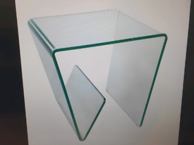 Lamp Table combi clear coffee table