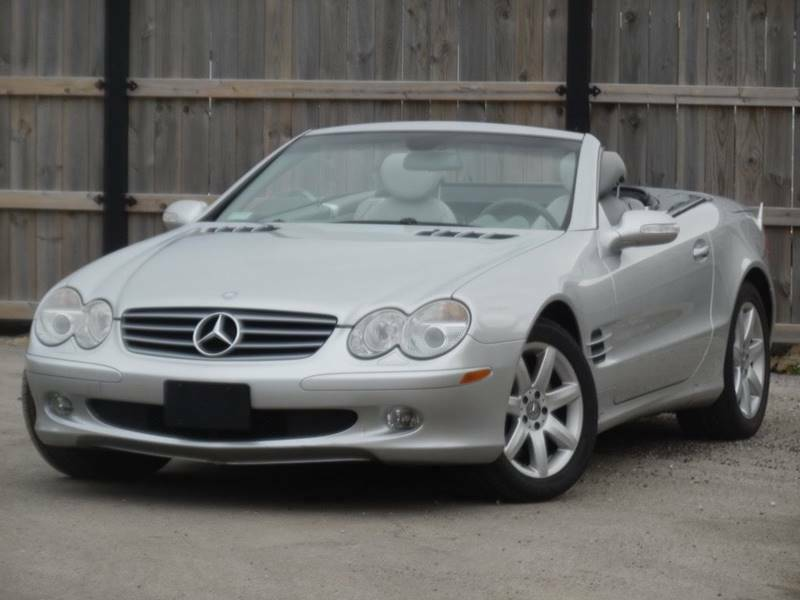 Image 1 Voiture Européenne d'occasion Mercedes-Benz SL-Class 2003