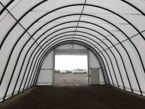 30' G&B Portable Fabric Buildings On Special! 16-Year Warranty!
