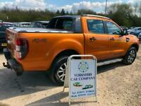 Ford Ranger 3.2TDCi ( 200PS ) 4x4 auto 2016MY Wildtrak DIESEL 1 OWNER FROM NEW