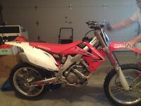 Excellent Condition Barely Rode CRF 250R