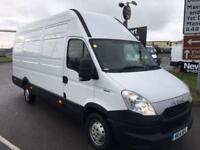 2014 14 IVECO-FORD DAILY 2.3 35S13V 126 BHP Extra High Roof