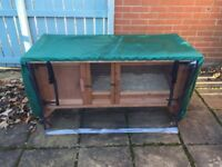 Outdoor rabbit/guinea pig hutch for sale