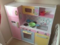 Kidkraft large pastel kitchen for sale GONE PENDING PICK UP!!