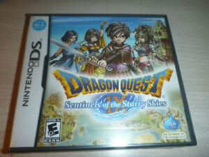 Dragon Quest IX for Nintendo DS (sealed)