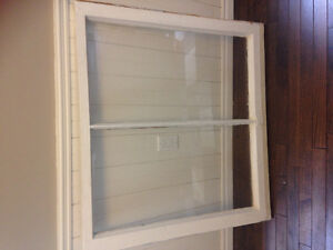 2 large storm windows FREE at curb