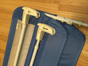 Baby safety bed rail for sale ( two pieces)