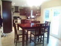 MOVING - Bistro Style (bar height) Dining Set
