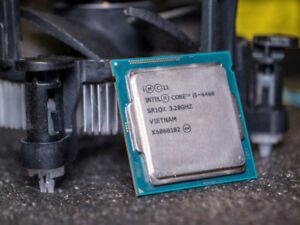i5-4460 Intel Processor (stock cooler included)