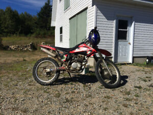 2004 CRF230F with papers