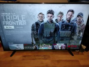 """55"""" 4K UHD HDR SMART TV WITH BROWSER NETFLIX YOUYUBE ALEXA"""