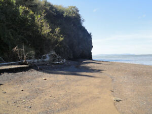 Large affordable Oceanfront lots on the Minas Basin, great view!