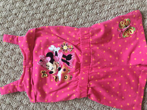 Minnie Mouse overall 3T super cute, excellent condition