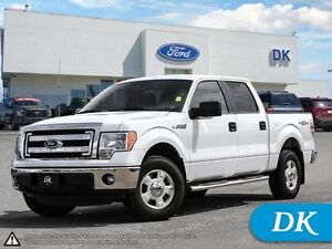 2013 Ford F-150 XLT SWB S/Crew 4WD w/Low Mileage!