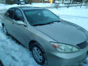 2002 Toyota Camry works great!