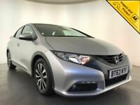 2014 HONDA CIVIC I-DTEC ES HATCHBACK FREE ROAD TAX 1 OWNER SERVICE HISTORY