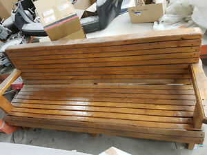 Solid CEDAR Wood Bench
