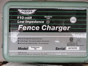 Parmak 110 v. Low Impedance Fence Charger