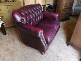 Thomas lloyd 2 seater sofa leather