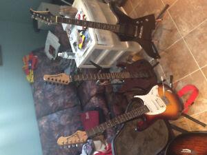 Various guitarssilverstone