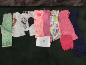 6 month baby girl clothing lot (11 pieces)