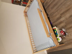 Toddler bed. Hardly used