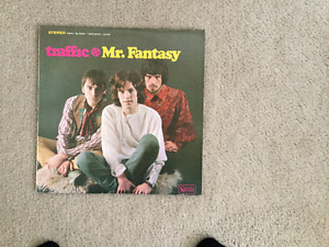 Traffic Mr. Fantasy 33 1/3 RPM vinyl LP