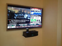 $50 Tv wall mount & Home theatre installation 416-518-1538