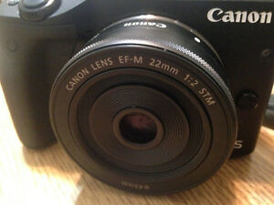 Canon EF-M 22mm f/2 STM Wide Angle Lens