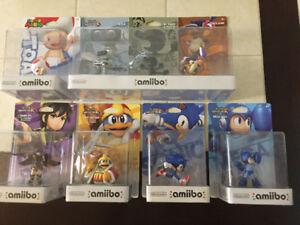 Plusieurs Amiibo à vendre
