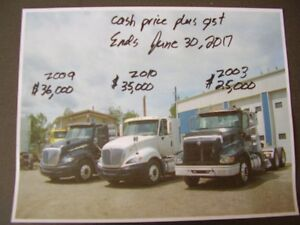 JUNE REDUCED PRICE ON THE FOLLOWING INVENTORY TRK & TRLER