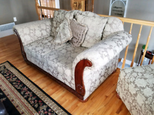 Couch, loveseat, chair and ottoman