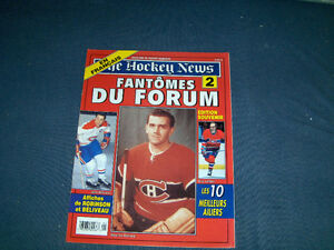 FANTOMES DU FORUM-NO. 2-MAURICE RICHARD-THE HOCKEY NEWS-FRANCAIS