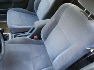 1996 HONDA CIVIC 4 DR FRONT AND REAR SEATS