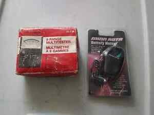 8 range battery multitester and battery meter