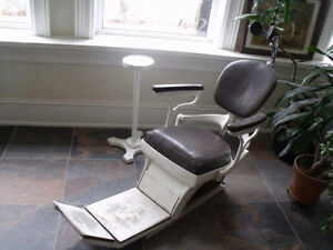 vintage dentist chair
