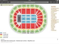 THE 1975 Concert at Manchester Arena 13Th December 2016 excellent seats price is per ticket