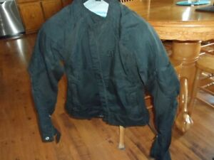 unisex Icon motorcycle jacket asphalt technology size medium