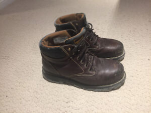 Safety boots, size 10, $35