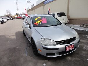 2007 Volkswagen Rabbit Coupe (2 door) E-TESTED & CERT