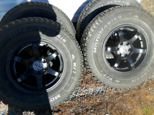 Winter Tires and Rims of Truck