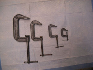 C Clamps for sale