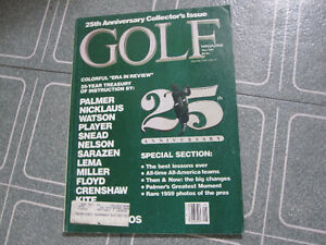 Golf Magazine--May 1984  25th Anniversary Collector's Issue