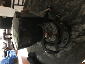 One cup automatic coffee percolator