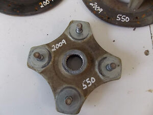 USED 2009 ATV 550 BRAKE DISCS AND HUBS (3 ONLY)