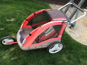 Remorque / chariot a velo little tikes