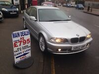 2003 BMW 318 CI SE / ONLY 87000 MILES / FULL MOT & SERVICE £1395!!!