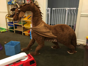 SUPER LARGE DRAGON FOR KIDS TO SIT-ON USED